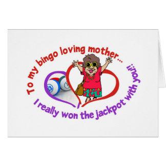 Cartões do Bingo - dia das mães