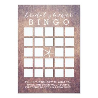 Cartões do Bingo do chá de panela da estrela do Convite 8.89 X 12.7cm