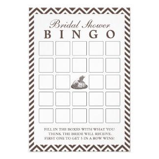 Cartões do Bingo do chá de panela da senhora Chapé