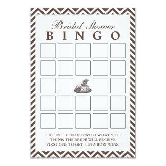 Cartões do Bingo do chá de panela da senhora Convite 8.89 X 12.7cm
