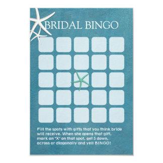 Cartões do Bingo do chá de panela do casamento de Convite 8.89 X 12.7cm