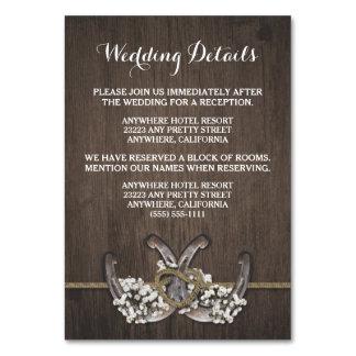 Cartões do cerco do casamento da respiração do