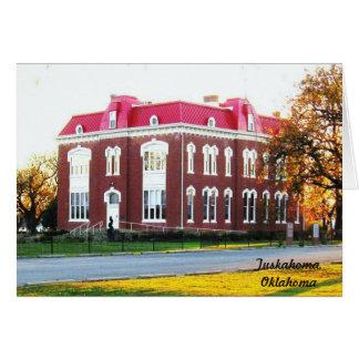 Cartões do Choctaw (casa do Conselho)