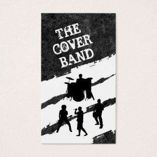 Cartões do contato da banda da música