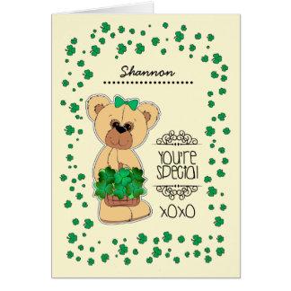 Cartões do dia de St Patrick conhecido feito sob