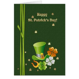 Cartões do dia de St Patrick feliz
