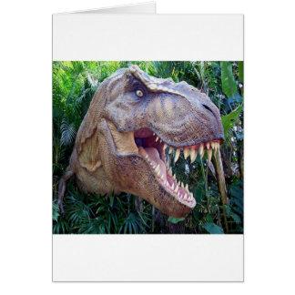 Cartões do dinossauro por feriados das crianças