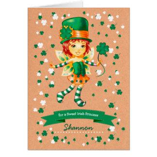 Cartões do divertimento do dia de St Patrick