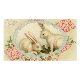 Cartões do Doodle da páscoa do vintage mini Cartão De Visita