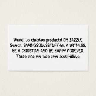 Cartões do evangelismo a ser uma testemunha