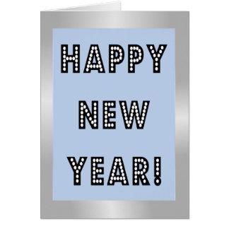 Cartões do feliz ano novo