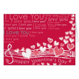Cartões do feliz dia dos namorados