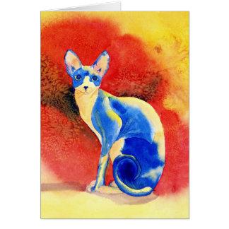 Cartões do gato #1 de Sphynx