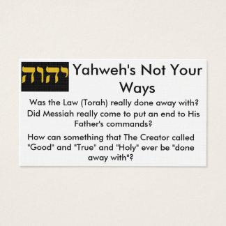 Cartões do intervalo de Torah