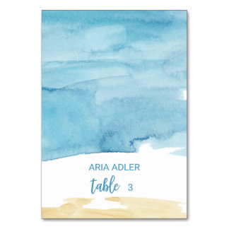 Cartões do lugar da escolta da areia e do mar da