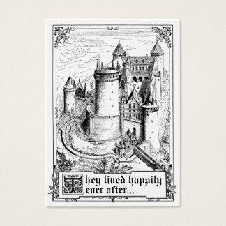 Cartões do lugar do casamento do livro de