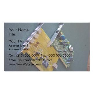 Cartões do modem e de ônibus do PCI Modelo Cartão De Visita