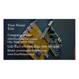 Cartões do modem e de ônibus do PCI Cartão De Visita