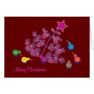 Cartões do Natal: Quivi