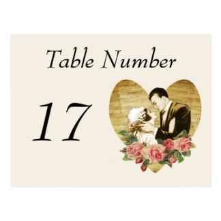 cartões do número da mesa do vintage dos anos 20