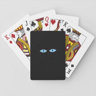 Cartões do olho baralhos
