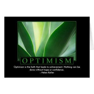 Cartões do optimismo