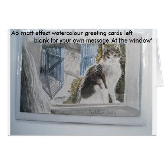 Cartões do watercolour A6