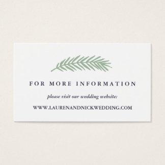 Cartões do Web site do casamento do azevinho e do