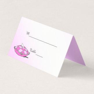 Cartões dobrados deslizador da mesa de Cinderella