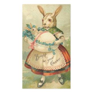 Cartões dos Doodles do feriado da páscoa do Cartão De Visita