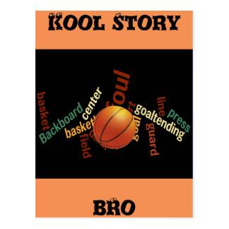 Cartões dos fanáticos do esporte do basquetebol de