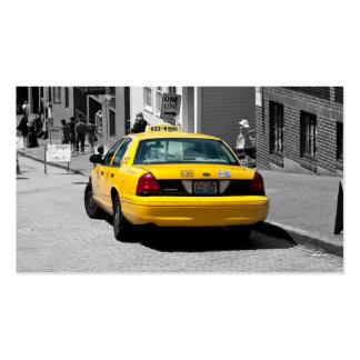 Cartões dos motoristas de Táxi Empresa Cartão De Visita