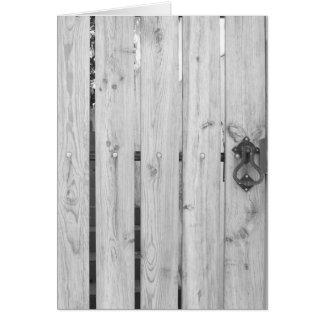 Cartões dos padrões & das texturas - porta de