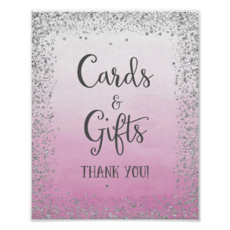 Cartões e presentes que Wedding o impressão do