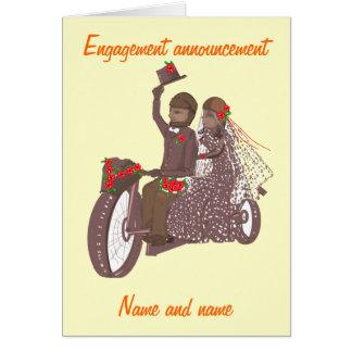 Cartões e produtos de casamento do motociclista da