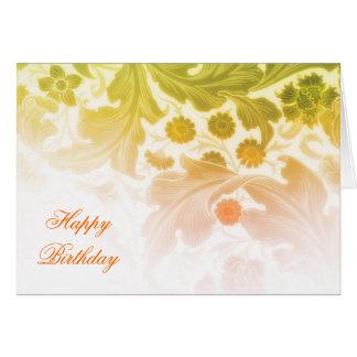 cartões elegantes do feliz aniversario