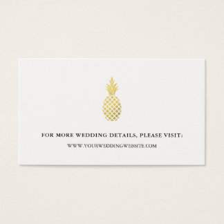 Cartões elegantes do Web site do casamento do