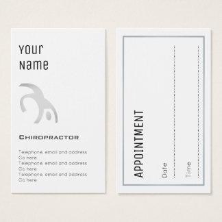"""Cartões """"essenciais"""" da nomeação do Chiropractor"""