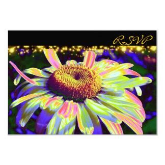 Cartões feitos sob encomenda de flower power RSVP Convites