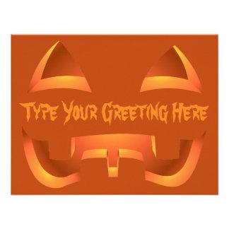 Cartões feitos sob encomenda do Dia das Bruxas dos Convites