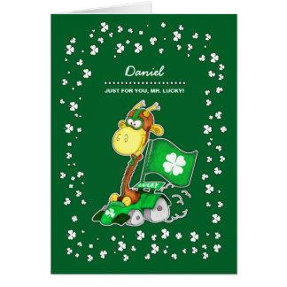 Cartões feitos sob encomenda do dia de St Patrick