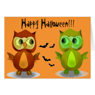 Cartões felizes do Dia das Bruxas