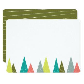 Cartões festivos dos artigos de papelaria da convite 12.7 x 17.78cm