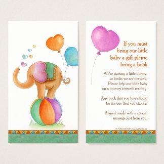 Cartões gifting do livro da arte do elefante do