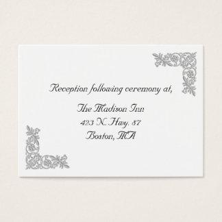 Cartões gráficos do cerco do casamento do bordado