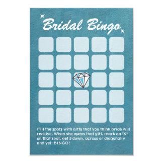 Cartões grandes do Bingo do chá de panela da Convite 8.89 X 12.7cm