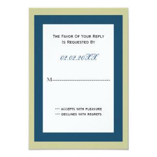 Cartão cartões incorporados elegantes do rsvp do convite