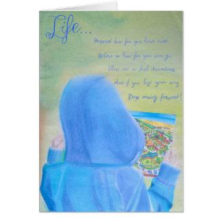 Cartões inspirados e inspiradores: Vida…