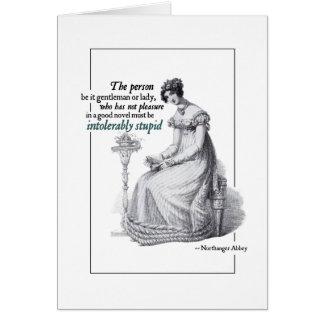 Cartões insuportàvel estúpidos de Jane Austen