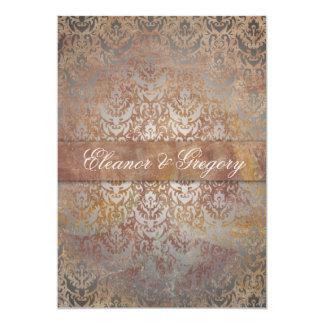 Cartões italianos do menu da elegância de Tuscan Convite 12.7 X 17.78cm
